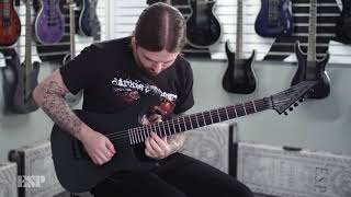 Ltd VIPER-7 black metal black satin - Video