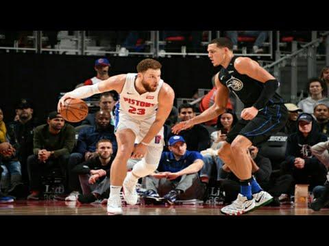 Detroit Pistons vs Orlando Magic Full Game Highlights |1/16/2019