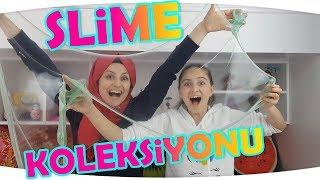 DEV SLİME KOLEKSİYONUM 2 | Eğlenceli Video | DIY | My Slime Collection