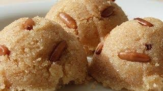 Смотреть онлайн Рецепт приготовления десерта: халва из манной крупы