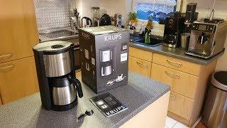 Krups KM305D ProAroma Filterkaffeemaschine mit Thermo-Kanne