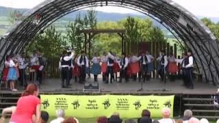 FS Šafárik - Spišské folklórne slávnosti 2012 - program Slováci Slovákom
