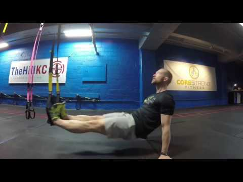 TRX Monday Move - TRX Suspended Pull-through