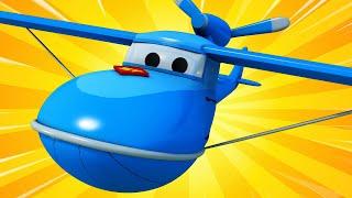 Videa s náklaďáky pro děti - Hydroplán! - Supernáklaďák ve Městě Aut