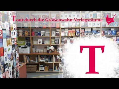 TOUR durch die Größenwahn-Verlagsräume