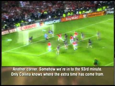 Manchester United campeón de la champions 1999 con 2 goles en el tiempo adicional image