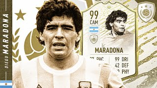 BEYOND BROKEN!! *99* MOMENTS MARADONA REVIEW! FIFA 20 Ultimate Team