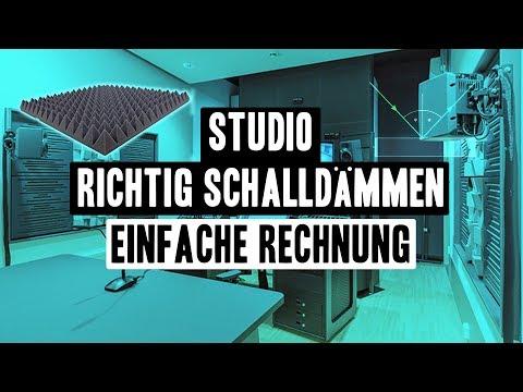 Lärmdämmen im Studio - kein Schall mehr im Raum | Akustikschaumstoff Tutorial