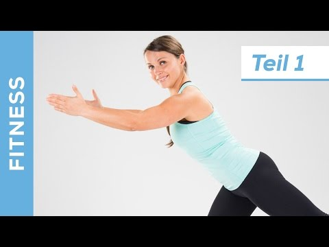 Optimaler Fitness Fatburner BBP für Anfänger  (1/2) -  Abnehmen für zuhause - Fit mit Anna - HD