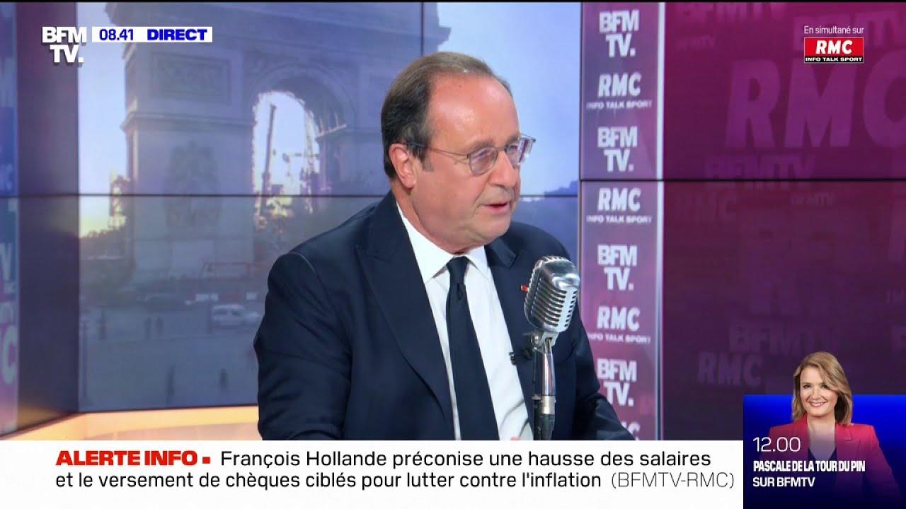 """""""L'inconstance est la marque de ce quinquennat"""", François Hollande juge la présidence de Macron"""