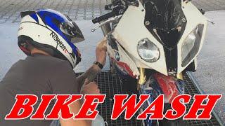 BIKE WASH   ZEITRAFFER   BMW S1000RR