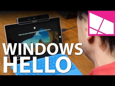 Windows Hello with Intel RealSense Camera & fingerprint scanner