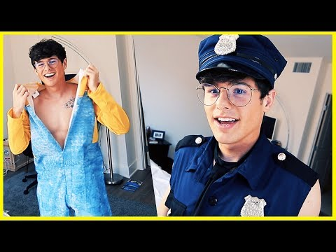 """TRYING ON """"SEXY"""" HALLOWEEN COSTUMES"""