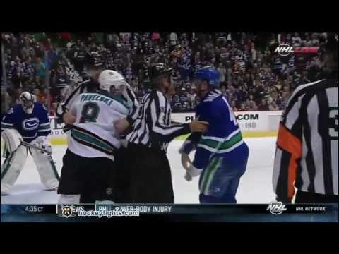Keith Ballard vs. Joe Pavelski