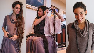 Cutting my Dreadlocks OFF after 9 years! Amazing Transformation!