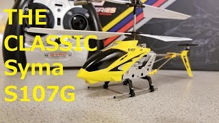 Syma S107G | Mini Metal RC Helicopter | The Original S107!
