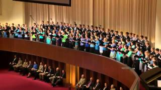 """His Robes for Mine"" sung by BJU Chorale and Concert Choir"