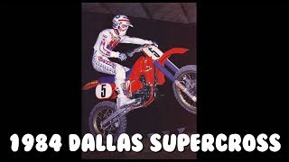 1984 Dallas Supercross from the Cotton Bowl