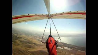 preview picture of video 'Spring hang gliding in Mevo Hama'