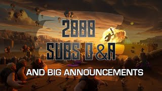2000 SUBS Q/A | Big Announcements | Clash with Sparsh