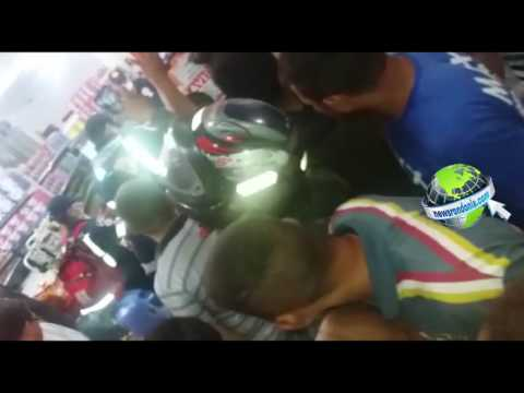 TENTATIVA DE ROUBO EM ESTABELECIMENTO COMERCIAL TERMINA COM SUSPEITO BALEADO