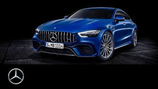 YouTube Video zT1oFPOE3_I for Product Mercedes-AMG GT 4-Door Coupe Sedan (X290) by Company Mercedes-Benz in Industry Cars