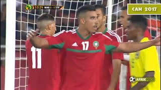 Maroc vs Sao Tomé-et-Principe (2-0)   Qualifications CAN 2017