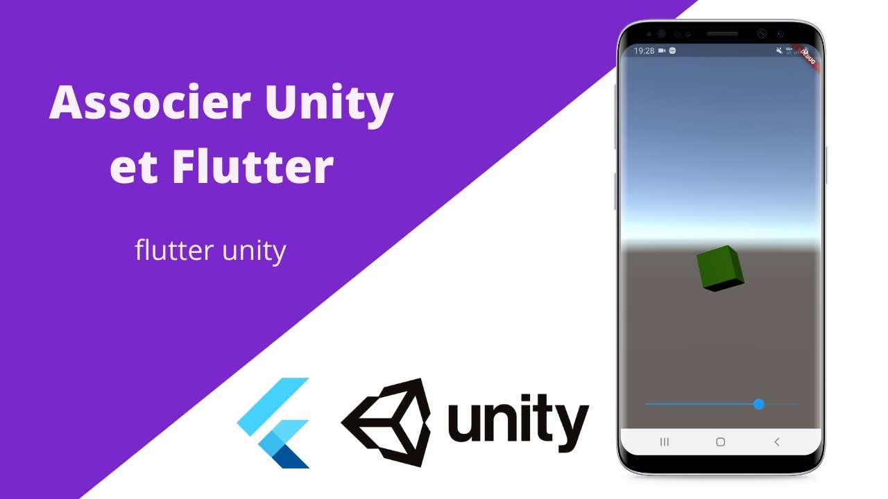 Incorporer une scène Unity3D dans une application mobile Flutter - TUTO FR