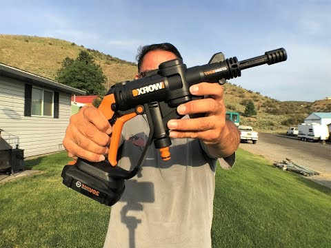 Worx Hydroshot 20V Cordless Power Cleaner with Accessories