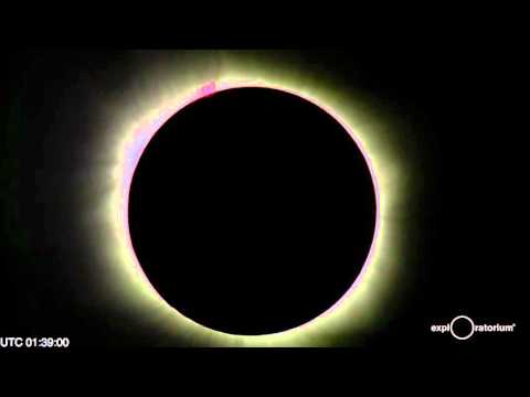NASA Captured Today's Solar Eclipse From Start To Finish