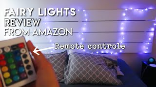 AMAZON UNBOXING FAIRY LIGHTS REVIEW 2019