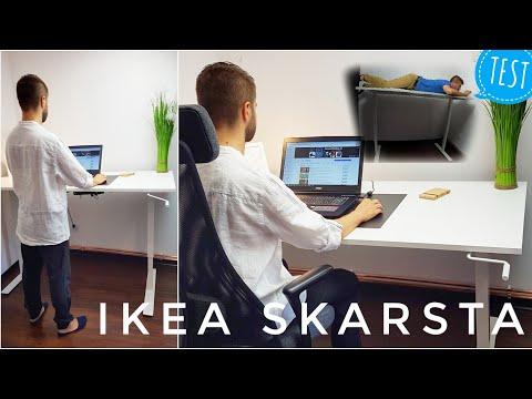 IKEA SKARSTA biurko podnoszone regulowane