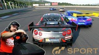 Достойная гонка на выносливость в онлайне | Fuji GP в Gran Turismo Sport