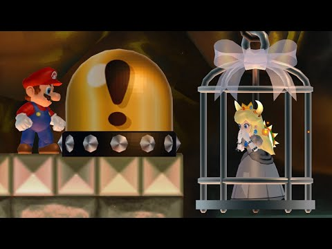 New Super Mario Bros. Wii - Mario wants to rescue Bowsette