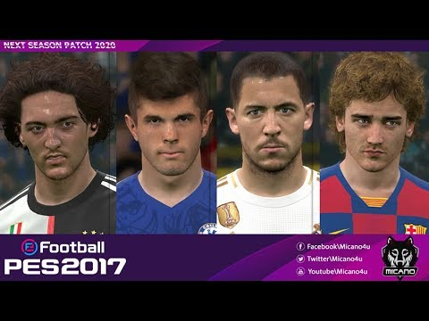PES 2017 | Next Season Patch 2020 | Download & Install