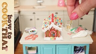 Teeny Weeny Challenge #3 How Small Can I Bake A Gingerbread House? How To Cook That Ann Reardon