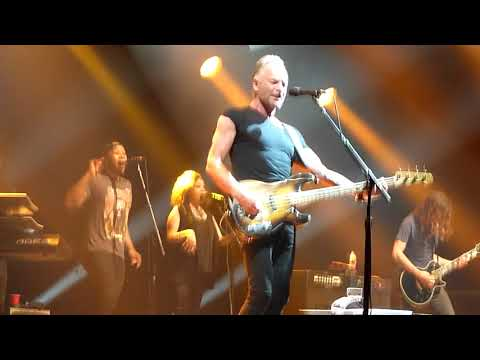 Sting - Can't Stand Losing You 10.06.2019 live @Arena Riga