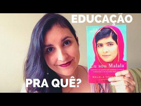 UM PAPO SOBRE MALALA E A IMPORTÂNCIA DA EDUCAÇÃO | Canal Jéssica Mattos
