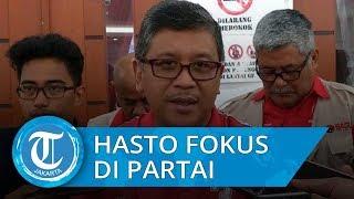 Hasto Kristiyanto Lebih Fokus Mengurus Partai daripada Masuk jadi Menteri