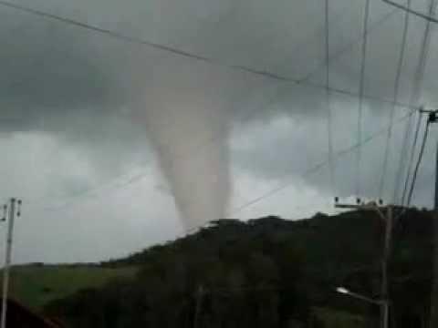 Tornado em Gramado-RS