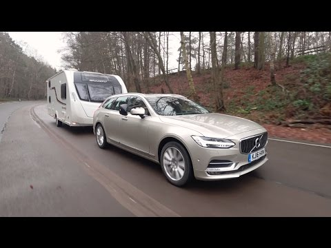 The Practical Caravan Volvo V90 review