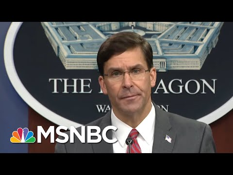 Mark Esper Clarifies Circumstances Of Trump's Church Photo-op, National Guard's Actions | MSNBC