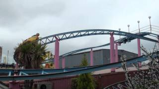 preview picture of video 'Barnstormer - Adventure Island - TPR UK Trip 2010 - Offride'