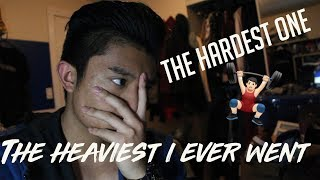 THE HARDEST IT HAS BEEN | LEG AND DEADLIFT DAY