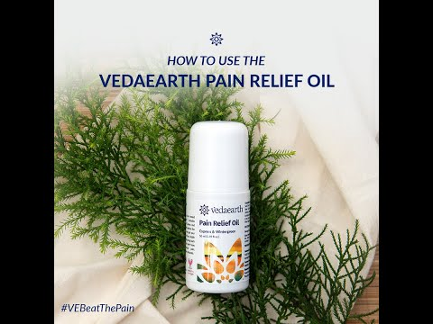 Pain Relief Oil   with Cypress, Wintergreen & Juniper Berry