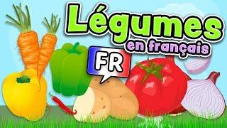 Vegetables In French (Légumes En Français)