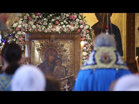 Акафист перед чудотворной Святогорской иконой Божией Матери в канун Её празднования 29.7.19 г.