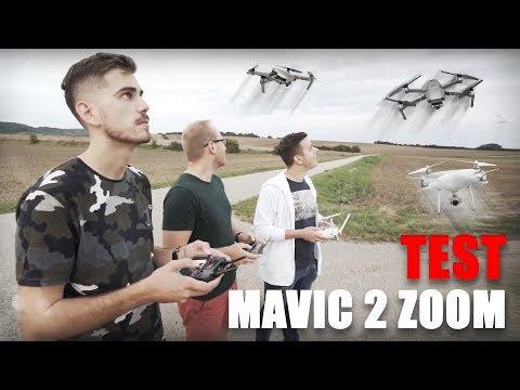 Súboj dronov! - DJI MAVIC 2 ZOOM TEST