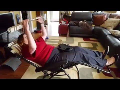 Video Sundale Folding Zero Gravity Chair Review