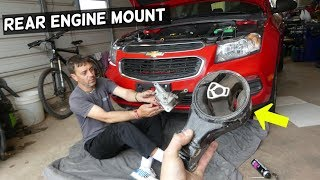 CHEVROLET CRUZE REAR ENGINE STRUT TORQUE MOUNT REPLACEMENT REMOVAL